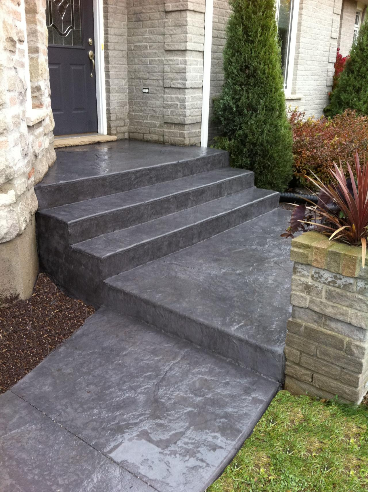 Thames Valley Decorative Concrete Inc Steps