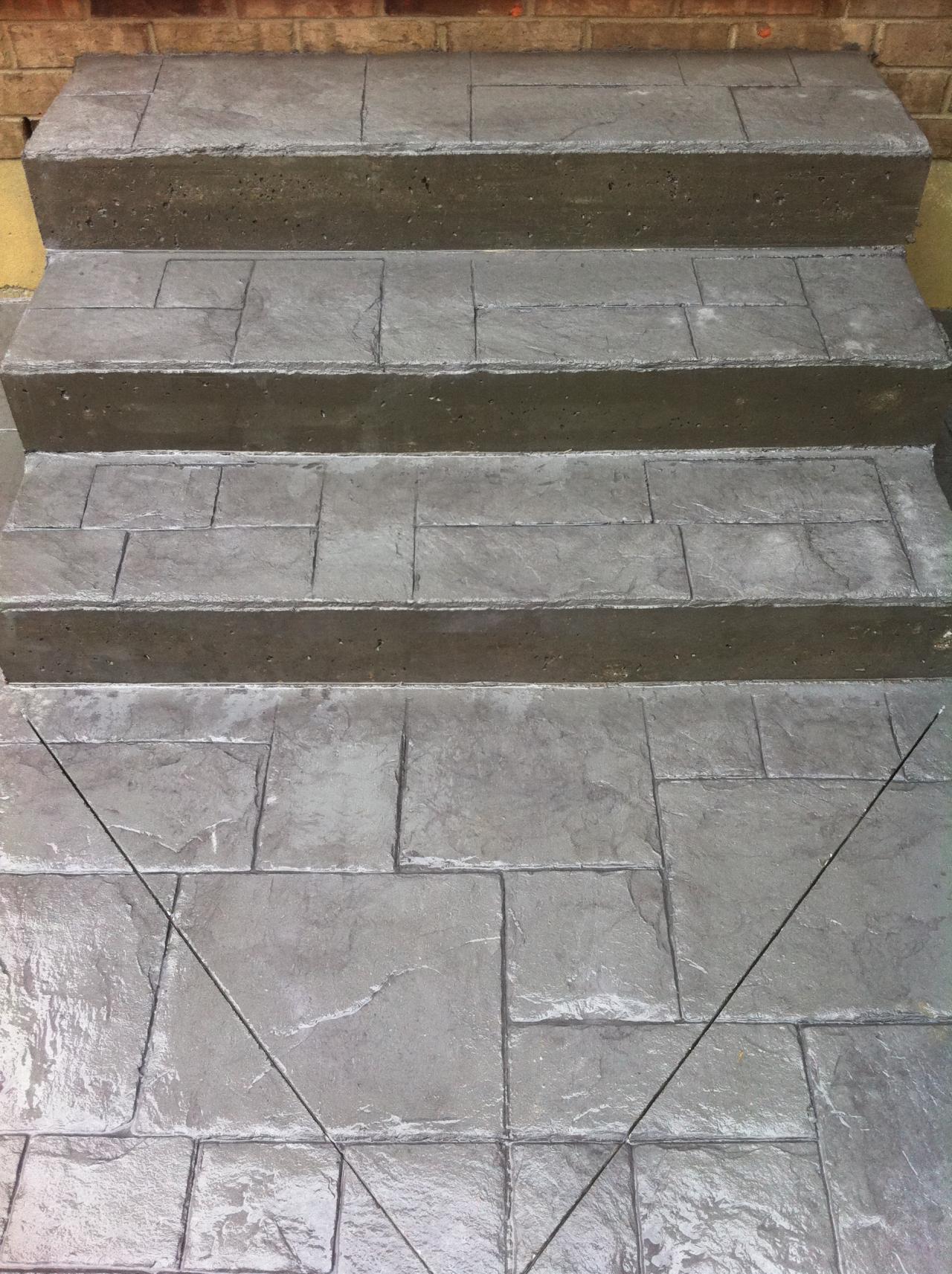 Thames Valley Decorative Concrete Steps