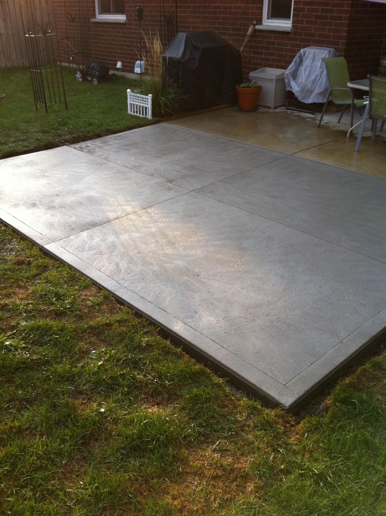 thames valley decorative concrete patios