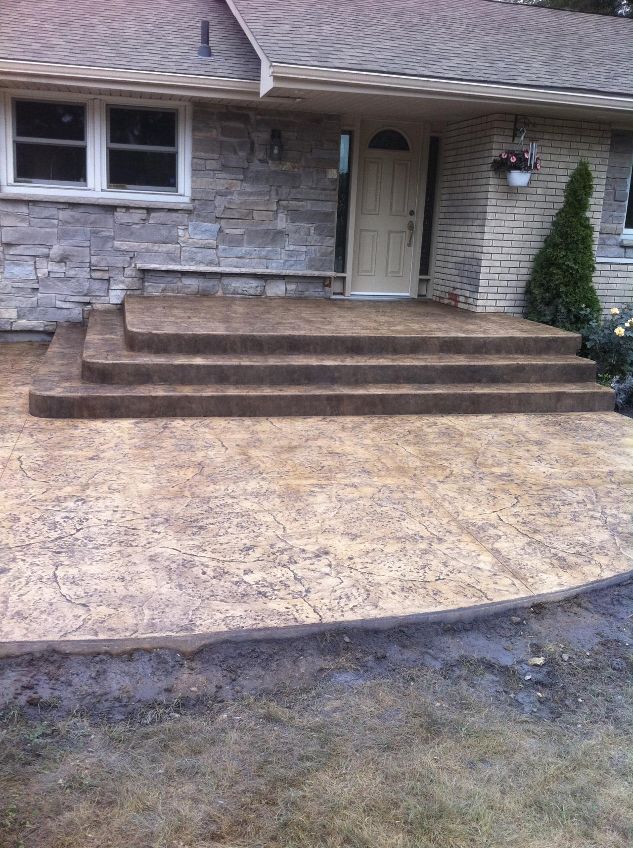 Thames Valley Decorative Concrete Inc Steps